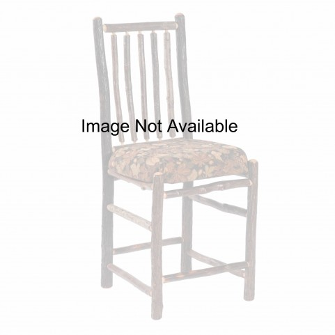 "Hickory Espresso 30"" Arms Bar Chair"