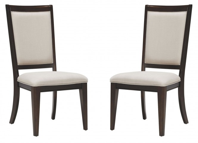 Brighton Merlot Side Chair Set of 2