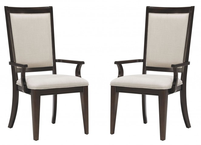 Brighton Merlot Arm Chair Set of 2