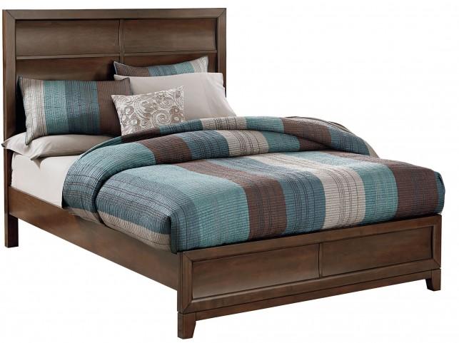 Amanoi Warm Mink Queen Panel Bed