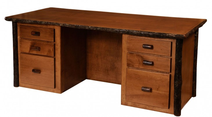 Hickory Standard Executive Desk