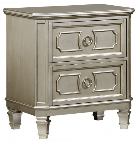 Windsor Silver Nightstand
