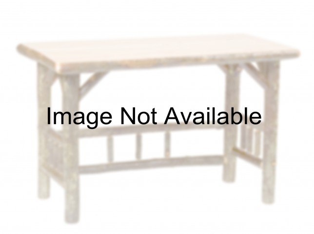 Hickory Rustic Maple Standard Open Writing Desk