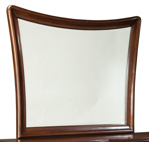 Park Avenue II Dark Golden Brown Mirror