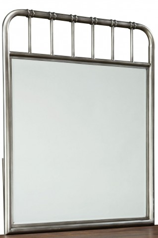 Weatherly Textured Metal Mirror