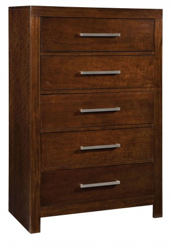 Metro Dark Merlot Drawer Chest