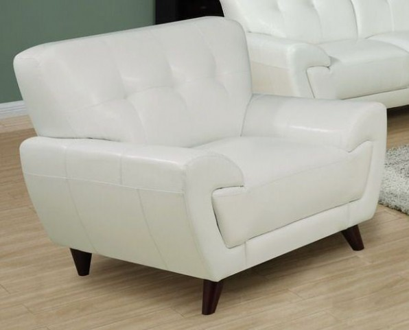 White Match Chair