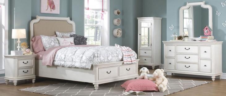 Madison Upholstered Panel Storage Bedroom Set