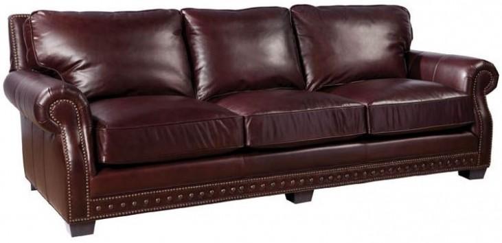 Canyon Copenhagen Cigar Leather Sofa