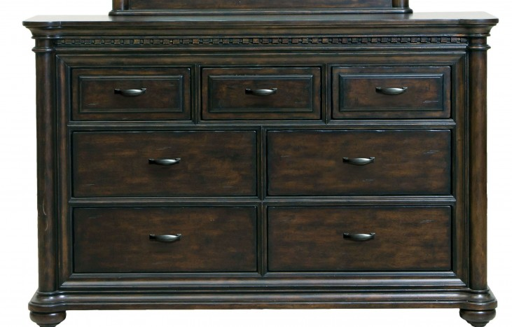 Grand Manor Drawer Dresser