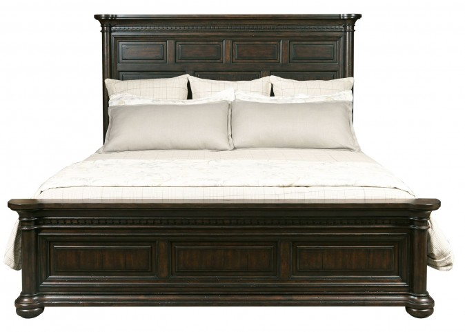 Grand Manor King Panel Bed