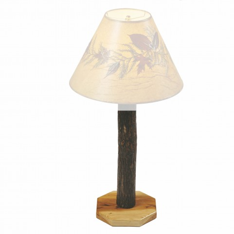 Hickory Buffet Lamp without Shade