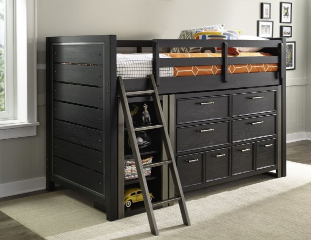 Graphite Loft Bedroom Set