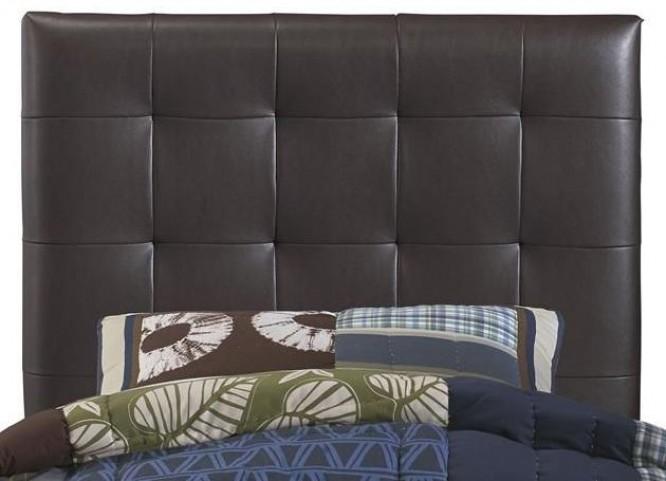 Maverick Brown Twin Upholstered Headboard