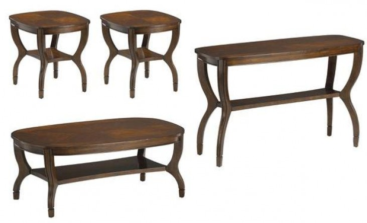 Fancy Cherry Occasional Table Set