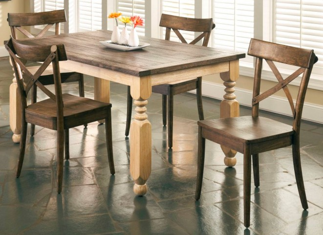 Coronado Turned Leg Dining Room Set