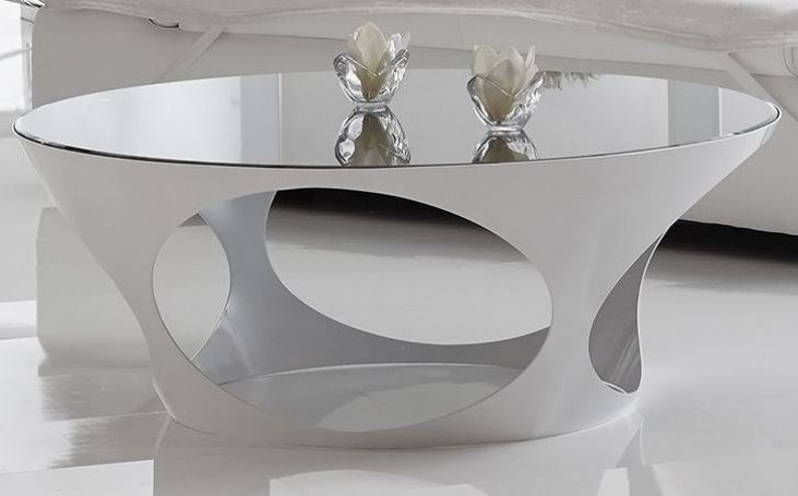 Marlow White High Gloss Coffee Table