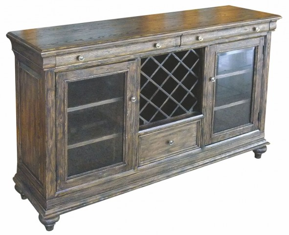 Artisans Shoppe Black Forest 3 Drawer Sideboard