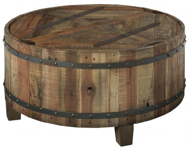 Artisans Shoppe Round Cocktail Table