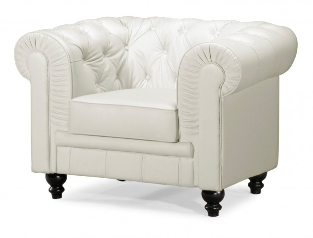 Aristocrat Armchair White