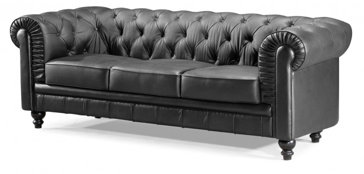 Aristocrat Black Sofa