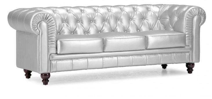 Aristocrat Sofa Silver