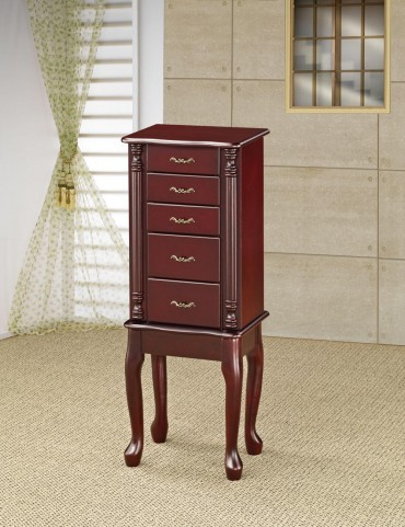 Cherry Jewelry Armoire 900144