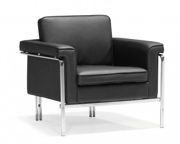 Singular Armchair Black