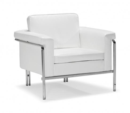 Singular Armchair White