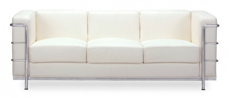 Fortress White Sofa