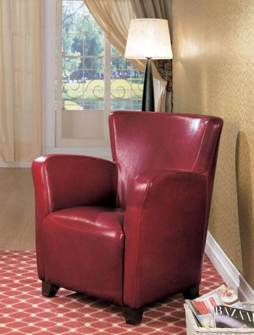 Red Vinyl Chair 900235