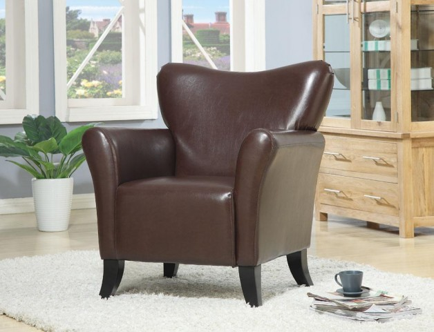 Brown Accent Chair 900254