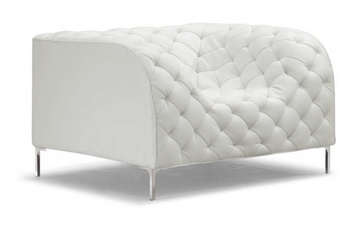 Providence  Armchair White