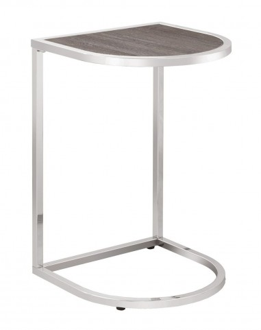 900345 Brown Snack Table
