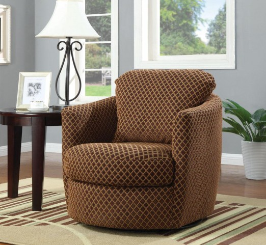 Brown Accent Chair 900405