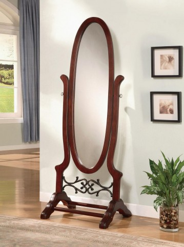 Walnut Cheval Mirror 900466