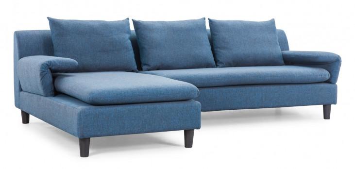 Axiom Cowboy Blue Sofa