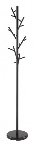 900897 Black Coat Rack