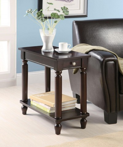 Cappuccino Chairside Table 900972