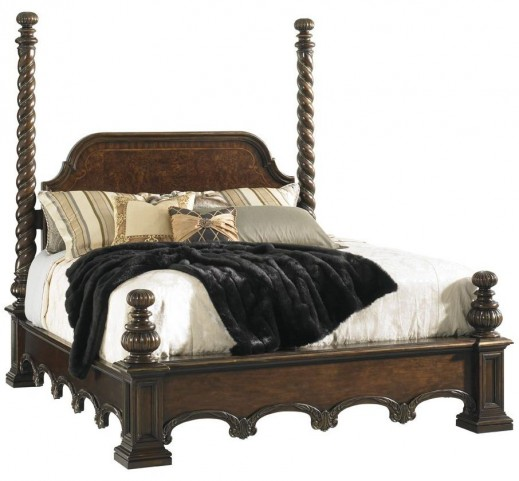 Florentino Portofino Vittorio Cal. King Poster Bed