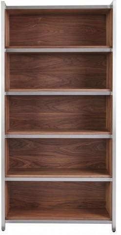 Ginger Walnut Slide Bookcase