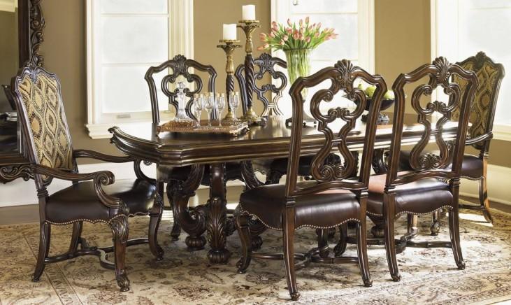 Florentino Portofino Bertone Extendable Dining Room Set