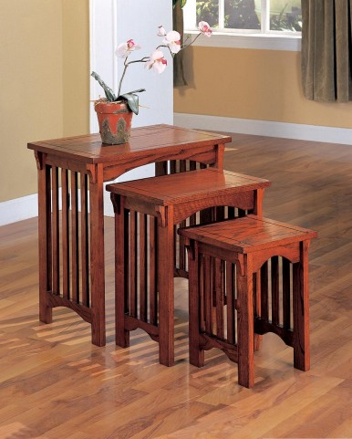 Oak Large Nesting Table 901049