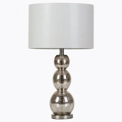 White Table Lamp With Shade 901185