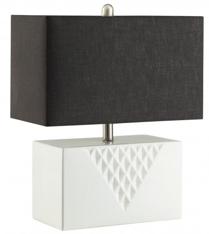 901522 White Table Lamp