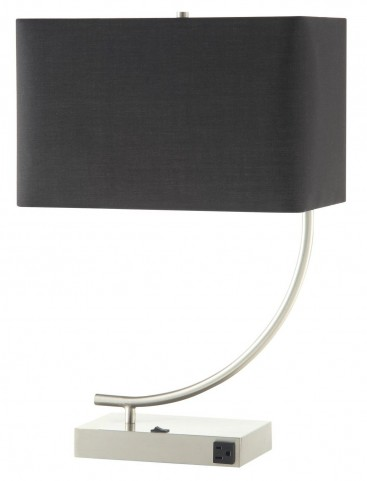901538 Nickel Table Lamp Set of 2