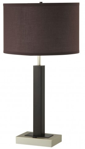 901542 Coffee Color Table Lamp Set of 2