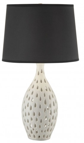 901546 White Table Lamp