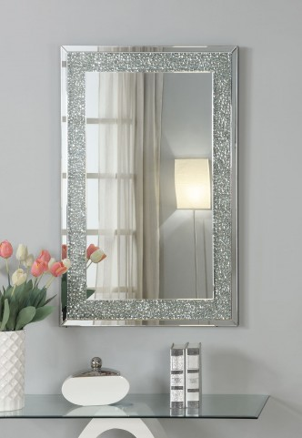 Pebble Framed Mirror