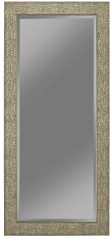 Green/ Gold Foil Accent Mirror